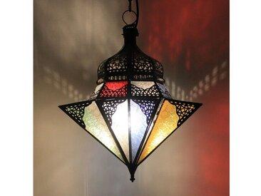 Casa Moro Lampenschirm »Orientalische Lampe Jawhara Multifarbig handgefertigte Hängeleuchte aus Marokko«