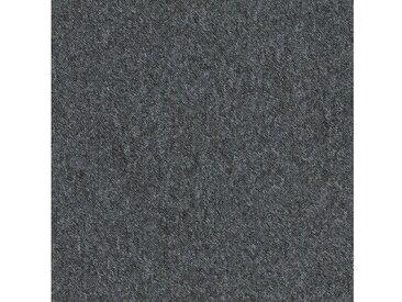 Teppichfliese »City«, quadratisch, Höhe 3 mm, selbstliegend, grau, 20 St., SL 600 dunkelgrau