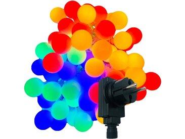BONETTI LED-Lichterkette »Partylichterkette mit 80 bunten LED Lichtkugeln«, 80-flammig, bunt, für Innen- und geschützten Außenbereich, IP44