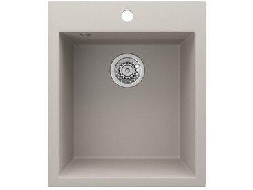 Bergstroem Küchenspüle »Granit Spüle Einbauspüle Spülbecken 425x500mm Beige«
