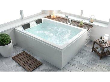 Emotion Whirlpool-Badewanne »Whirlwanne ZEUS & ANDALUSIA (links): Massagegenuss zu zweit exklusiv ausgestattet«