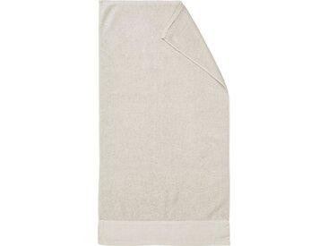 Marc O'Polo Home Handtücher »Linan« (2-St), mit Bordüre aus Baumwoll-Leinengewebe, natur, oatmeal