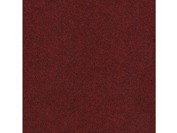 Teppichfliese »Madison rot«, 4 Stück (1 m²), selbstliegend, rot, rot