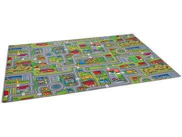 Snapstyle Kinderteppich »Kinder Spiel Teppich Abenteuerland Bunt«, Höhe 4 mm