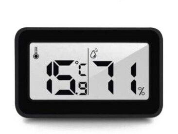 kueatily Feuchtigkeitsmesser »Multifunktionales Thermometer, digitales Hygrometer-Thermometer für den Innenbereich, automatischer elektronischer Temperatur- und Feuchtigkeitsmonitor, großer LCD-Bildschirm, Haus, Büro