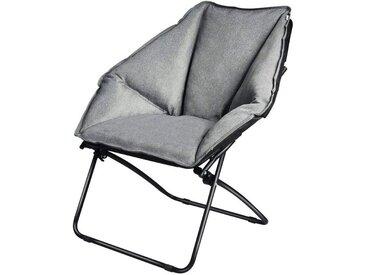 COSTWAY Klappstuhl »Moon Chair Campingstuhl Mondstuhl« faltbar
