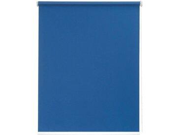sunlines Seitenzugrollo nach Maß »Start-up Style uni Verdunkelung«, verdunkelnd, freihängend, Made in Germany, blau, blau