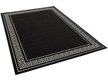 Pergamon Designteppich »Trendline Schwarz Weiß Römische Bordüre«, Rechteckig, Höhe 8 mm