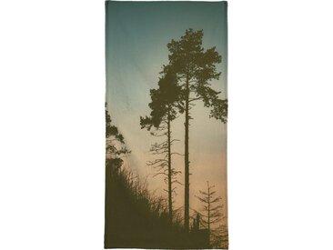 Juniqe Handtuch »The Forest II« (1-St), Weiche Frottee-Veloursqualität
