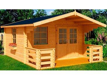 Outdoor Life Products Gartenhaus »Klingenberg 1«, BxT: 340x460 cm, (Set), natur, naturbelassen, natur