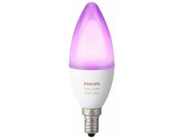 Philips Hue »White and Color Ambiance« LED-Leuchtmittel, E14, 1 Stück, Neutralweiß, Tageslichtweiß, Warmweiß, Extra-Warmweiß, Farbwechsler