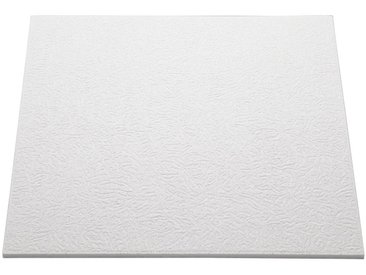 Decoflair Deckenplatten »Deckenplatte T140«, (Set) in Putzoptik