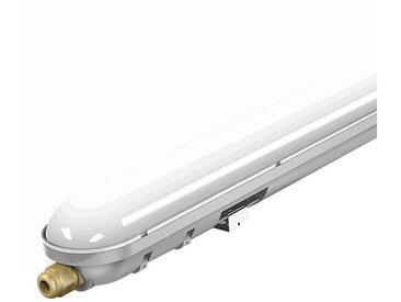 etc-shop Außen-Deckenleuchte, Decken LED Lampe Leuchte Werkstatt Garage Industrie Lager robust 6000K Variante, 48 Watt