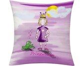 emotion textiles Kissenhülle »Prinzessin Tag«, (1 Stück), rosa