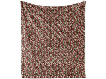 Abakuhaus Foulard »Gemütlicher Plüsch für den Innen- und Außenbereich«, Blumen Weihnachten Blumenstrauß