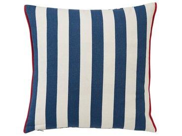 Lexington Dekokissen »Striped Cotton Pillow Cover«, blau, hellblau