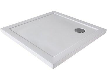 welltime Eckduschwanne »Slim Line Eckig«, quadratisch, Sanitäracryl, BxT: 80 x 80 cm