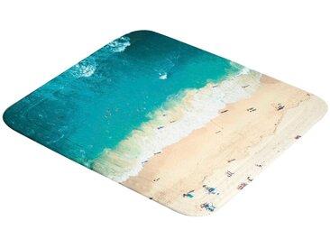 Kleine Wolke Duscheinlage »Waikiki«, B: 55 cm, L: 55 cm, mit Strand-Motiv, 55x55 cm