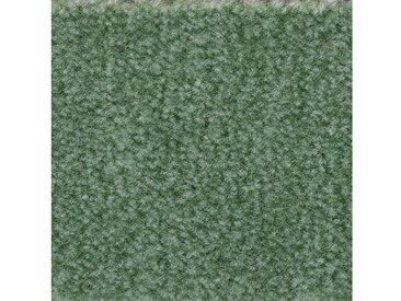 Bodenmeister BODENMEISTER Teppichboden »Velours gemustert«, Meterware, Breite 400/500 cm, grün, grün