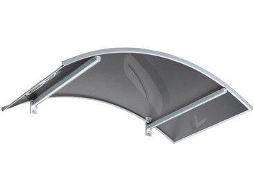 GUTTA Gutta Bogenvordach »LED-Technik«, 150x90x25 cm, weiß-transparent, weiß, weiß