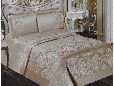 """ZELLERFELD Tagesdecke »6-Teilige """"Victoria"""" Premium Bettdecke Tagesdecke Bettdecke Bettüberwurf Kopfkissenbezug Baumwolledecke 240 x 240 cm«, blau"""
