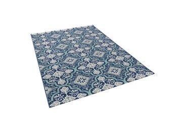 Pergamon Outdoorteppich »In & Outdoor Teppich Carpetto Fliesenoptik«, Höhe 6 mm