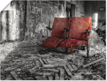 Artland Wandbild »Lost Place - Zusammen«, Architektonische Elemente (1 Stück), Poster