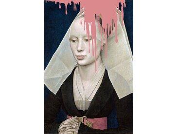 queence Acrylglasbild »Nonne«
