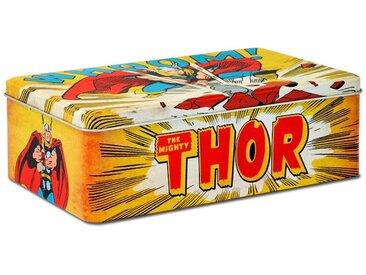LOGOSHIRT Blechdose mit Thor-Motiv, bunt, gelb