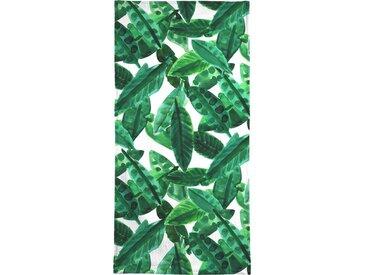 Juniqe Handtuch »Small Palm Leaves« (1-St), Weiche Frottee-Veloursqualität