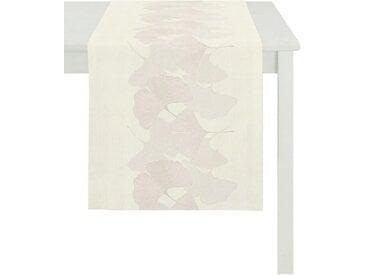 APELT Tischläufer »2900 Loft Style« (1-tlg), weiß, creme-beige