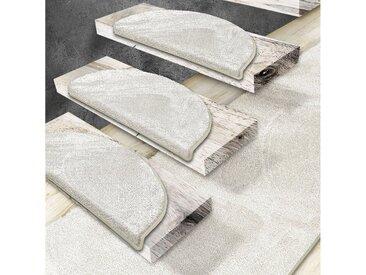 Floordirekt Stufenmatte »Sundae 1A«, Halbrund, Höhe 5 mm, natur, Creme 20