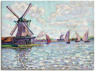 Artland Wandbild »Windmühlen in Holland. Um 1904«, Gebäude (1 Stück), Leinwandbild