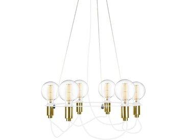 """Globen Lighting Kronleuchter »""""Cables"""" in Weiß und«"""