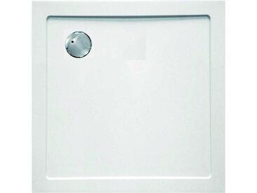 Sanotechnik Duschwanne »SMC«, quadratisch, Kunststoff, eckig, BxT: 80 x 80 cm