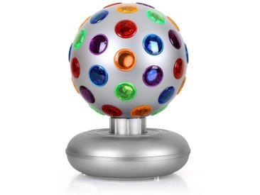 ONECONCEPT Party-Licht-Effekt 5W silber »Disco Ball«, silberfarben, silber
