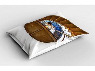 Abakuhaus Kissenbezug »Dekorativer Standard Size Gedruckter Kopfkissenbezug«, Die Architektur Wendeltreppe Szene