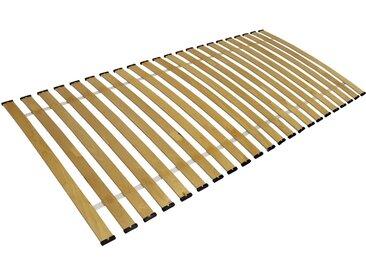 Clamaro Rollrost, Rollrost Lattenrost gebogene Federleisten rahmenlos Bettrost bis 150Kg CLAMARO