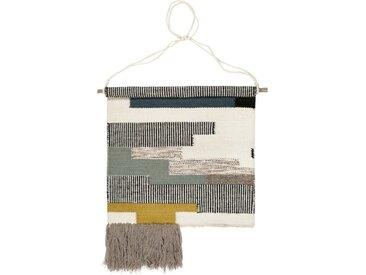 Esprit Wollteppich »Hanger «, quadratisch, Höhe 8 mm, Wandteppich