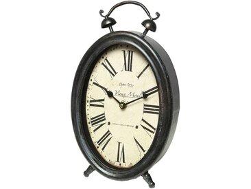 Ambiente Haus Tischuhr »French Uhr - grau 34cm«