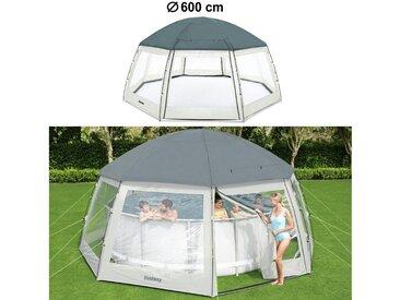 BESTWAY Poolüberdachung » Pool Abdeckung Pavillon Schutz Swimmingpool Cover rund Durchmesser 600cm«