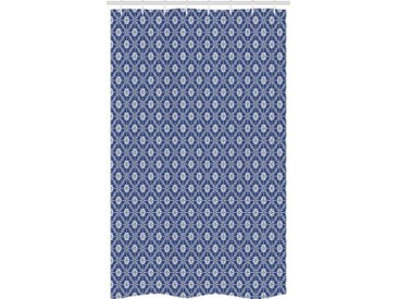 Abakuhaus Duschvorhang »Badezimmer Deko Set aus Stoff mit Haken« Breite 120 cm, Höhe 180 cm, Azulejo Traditionelle portugiesische Art