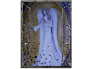 Artland Glasbild »Fensterblick - Engel«, Religion (1 Stück)