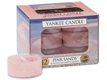 Yankee Candle Duftkerze »Pink Sands 12er Pack Teelichter«