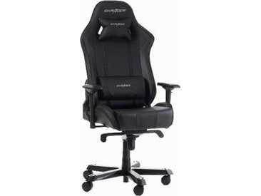 DXRacer Gaming Chair King-Serie, OH/KS06, schwarz, schwarz/schwarz