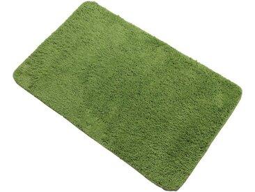 DILUMA Badematte »Lasalle 70x120 cm - rutschfester Duschvorleger« , Höhe 20,00 mm, grün, grün