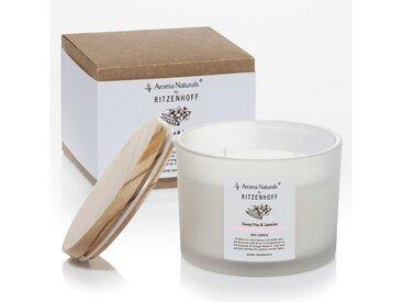 Aroma Naturals by Ritzenhoff Duftkerze »Aroma Naturals Sweet Pea & Jasmine Ø 11 cm«