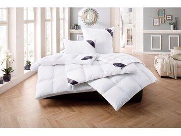 Excellent Daunenbettdecke + Federkissen, »Luxus«, Material Füllung: Entendaune/-feder, (Spar-Set), Feinste Daunen, 2 x 135 cm x 200 cm
