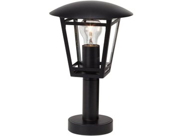 Brilliant Leuchten Riley Außensockelleuchte 43cm schwarz, schwarz, schwarz