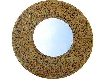 Guru-Shop Dekospiegel »Mosaikspiegel - Soda gelb«, Soda gelb